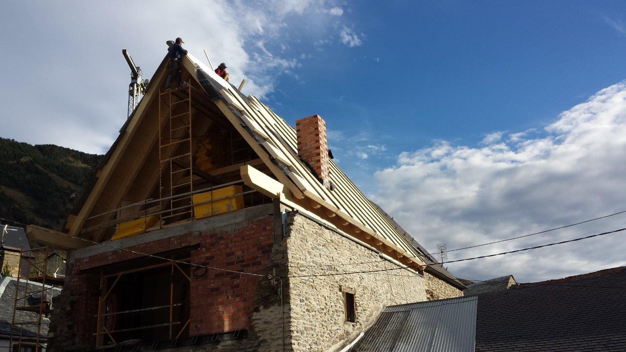 Reforma i ampliació d'habitage a Bagergue (Naut Aran)