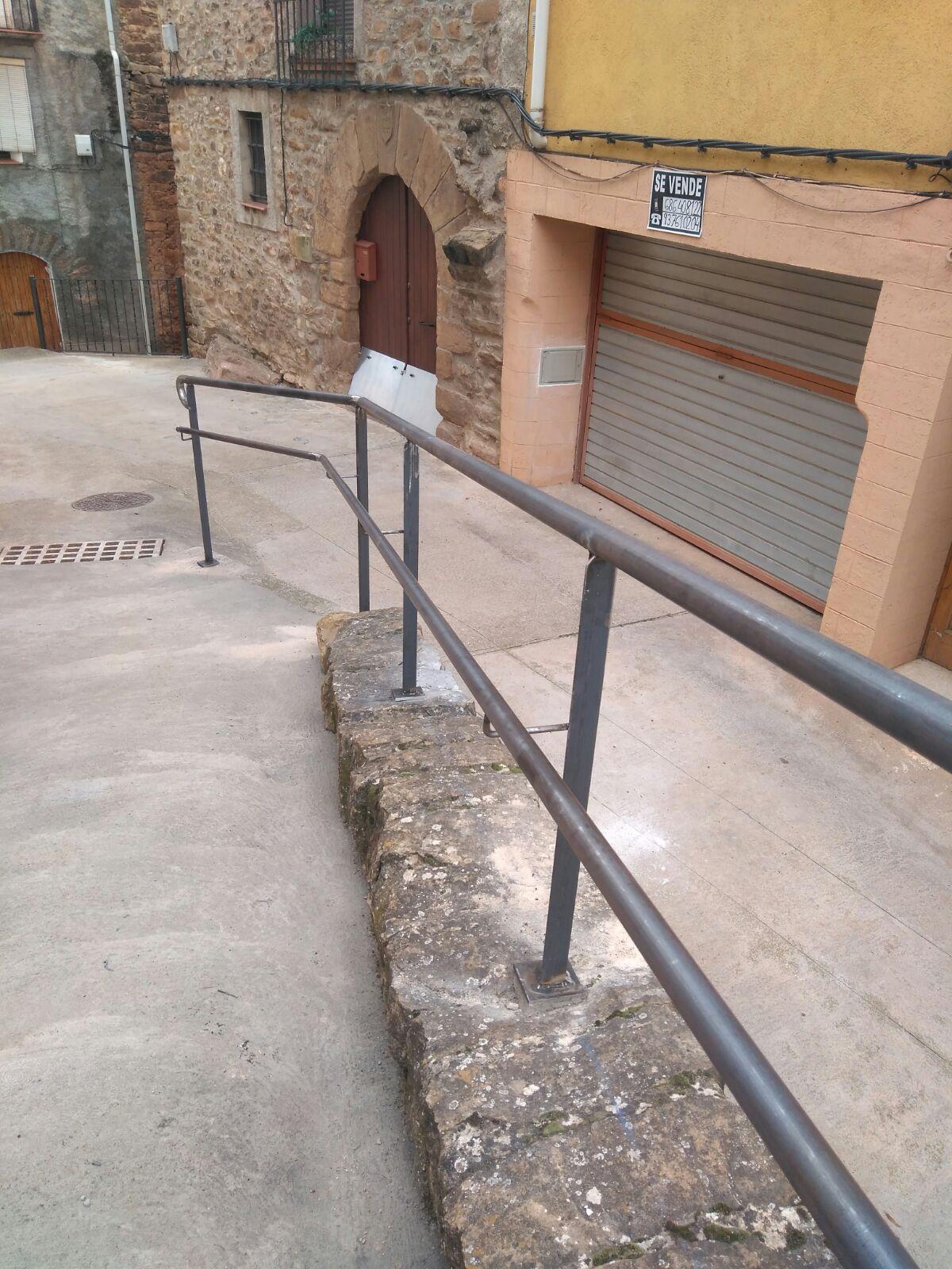 OBRES DE MANTENIMENT I MILLORA PUJADA AL CASTELLA VILAMITJANA (PALLARS JUSSÀ)