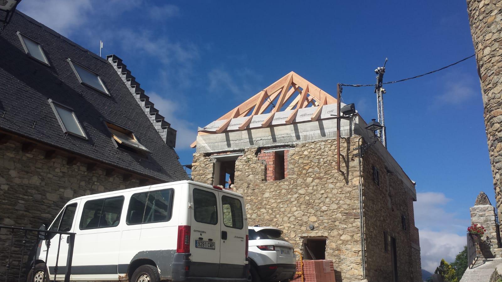 Reforma i ampliació d'habitage a unha (naut aran)